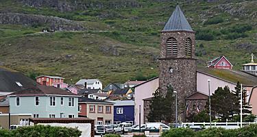 Saint Pierre Miquelon Cathedral Foothills