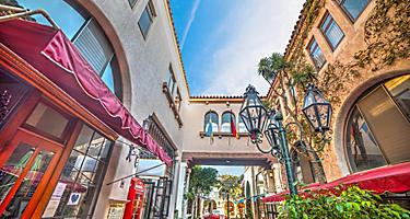 Santa Barbara, California, Shopping Center