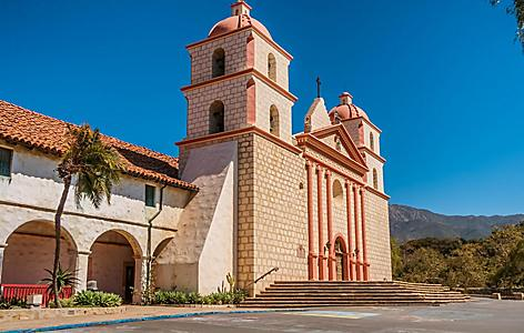 The Old Mission is Santa Barbara, California