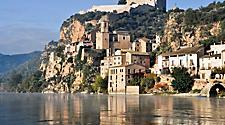 Spain Tarragona Miravet Mediterranean Town