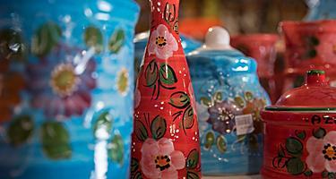 Spain Tarragona Ceramics Spanish Porcelain Jugs