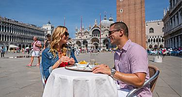 Italy Ravenna Venice St Mark's Square Restaurant Local Cuisine Food
