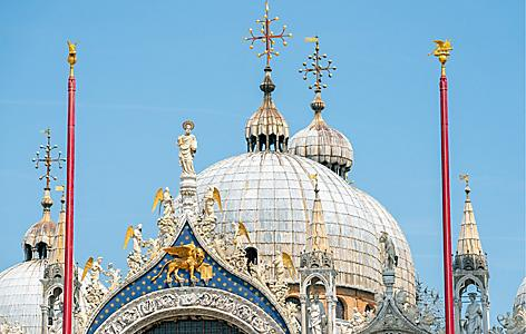 Italy Ravenna Venice St Mark's Basilica Dome