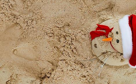 Sand Snowman Christmas Dsktp Standard 1920 800