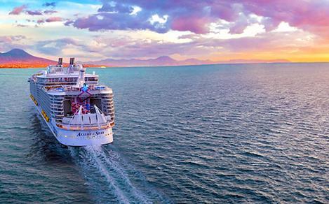 HP Allure Heading Port Naples Italy