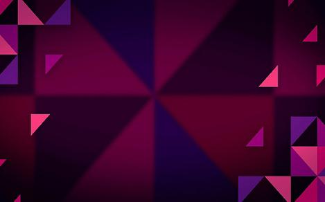 Purple and Pink Triangles Background