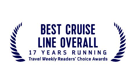 Best Cruise Line Overall, 17 Years Running