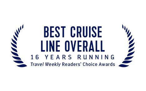 Travel Weekly's Best Cruise Line Overall Award