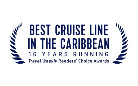 Travel Weekly's Best Cruise Line in the Caribbean Award