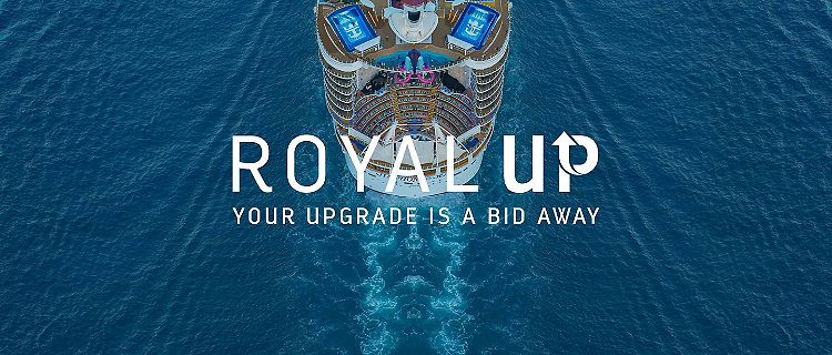 Cruise Room Upgrade Program, Royal Up