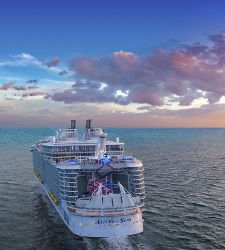 Allure of the Seas Sunset Sailing