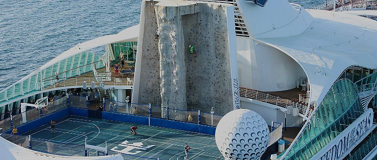 Freedom of the Seas Sports Deck