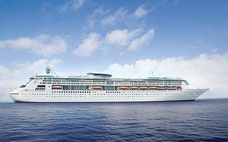 Grandeur of the Seas Sailing