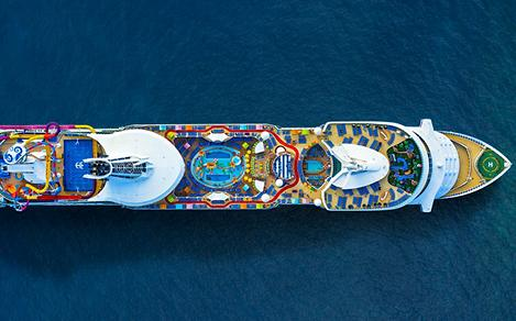 Navigator of the Seas Aerial