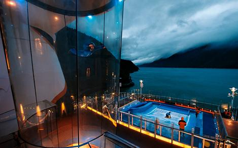 iFly and Flowrider Sunset in Alaska