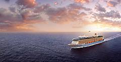 Anthem of the Seas - Aerials at sea (Bahamas)