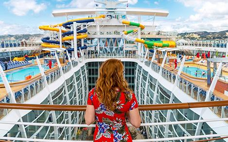 Daytime on Symphony of the Seas