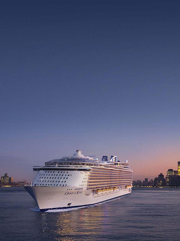 Quantum of the Seas - 1st arrival in New York November 10, 2014
