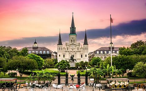 Jackson Square Cathedral New Orleans