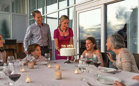 Royal Suite Birthday Celebration