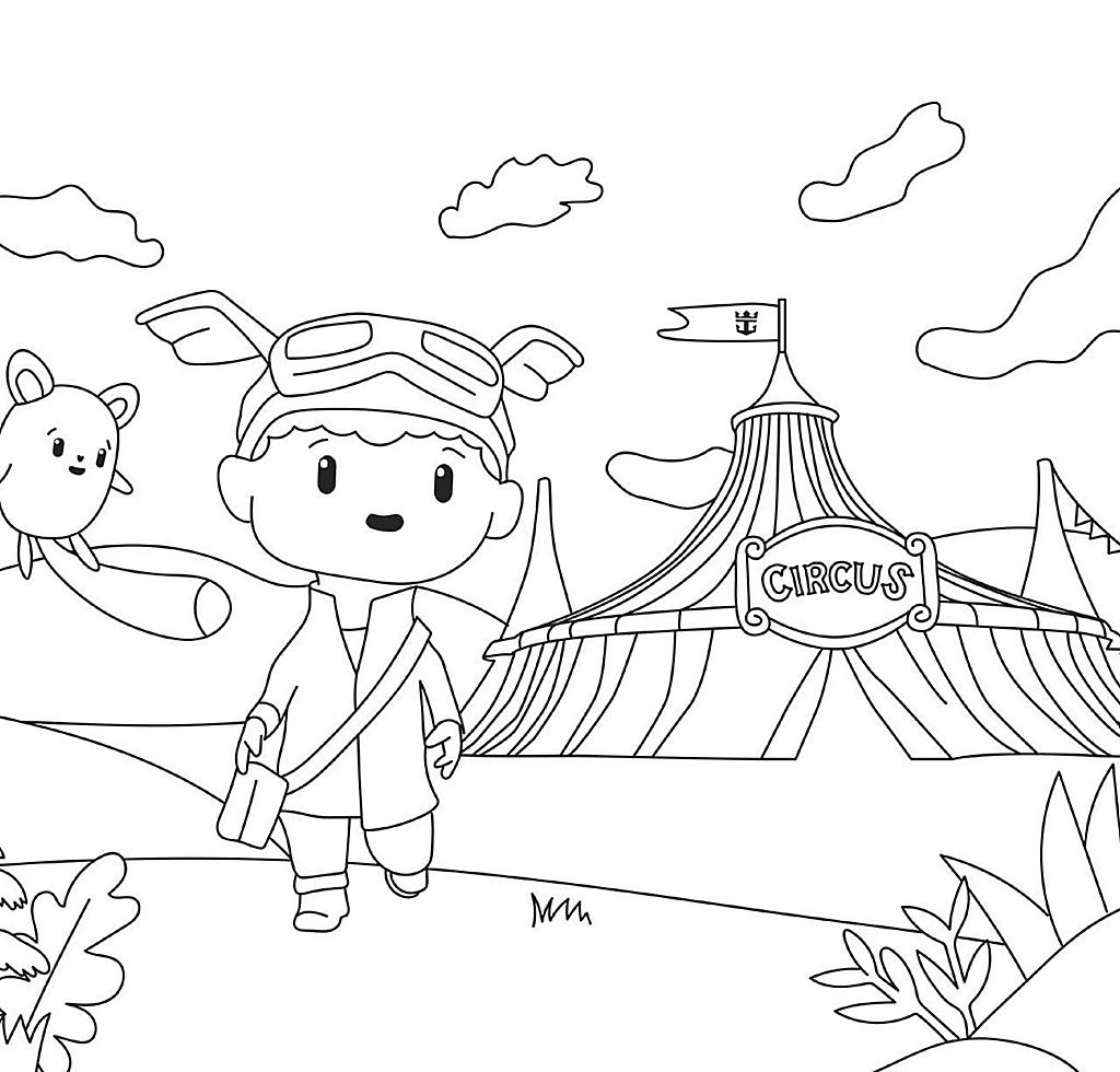 Lulu Mika Coloring Book