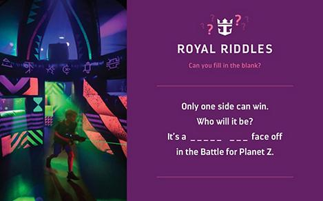 riddles with royal image